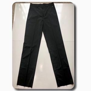 Versace Black High Rise Pants